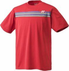 Yonex sportshirt Team Shirt Rood Heren Maat XS