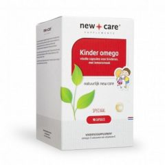 New Care Kinder Omega Lemonsmaak - 90 Kauwcapsules - Voedingssupplement
