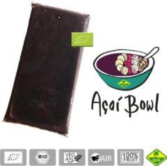 Acai bevroren fruit puree (pulp) BIO - Premium kwaliteit - Acai fine fruits club - 4 kg (40 x 100 g)