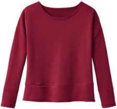 Rode Enna Sweatshirt, kersenrood 44/46