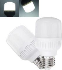 Meco 5W 10W 14W 18W E27 Pure White No Strobe E27 LED Light Bulb for Indoor Home Use AC180-260V