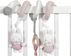 Tiamo Collection Nijntje Boxspiraal Pink Rib-serie Pluche Meisjes 24 Cm Roze