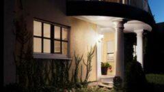 Steinel L 15 617912 Buitenlamp met bewegingsmelder (wand) Spaarlamp, LED E27 60 W Wit
