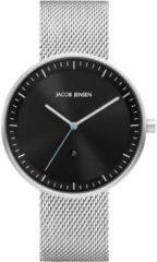 Jacob Jensen 278 horloge heren - zilver - edelstaal