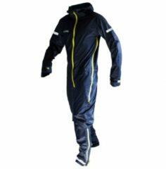Blauwe Dirtlej - Commute Suit - Fietsjack maat M zwart/blauw