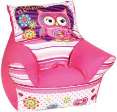 Mini-Sitzsack Eule Sophie, rosa