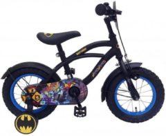 Volare Batman Kinderfiets - Jongens - 12 inch - Zwart/Blauw - 95% afgemonteerd