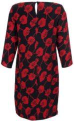 Kleid Alba Moda Schwarz/Rot