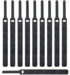 Label the cable M-Cab Basic Zwart 10stuk(s) kabelbinder
