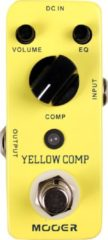 Mooer Audio Yellow Comp Optical Compressor pedaal