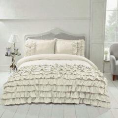 Gebroken-witte Beau Maison - Saint Martin - Off White - 1 Persoons - 140 x 200/220 cm