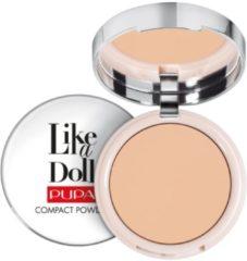 PUPA Like A Doll Nude Skin Compact Powder (Various Shades) - Natural Beige