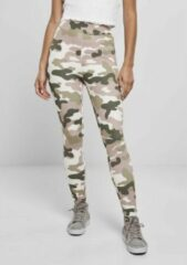 Urban Classics Sportlegging -XS- High Waist Camo Tech Multicolours