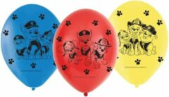 24x Paw Patrol ballonnen versiering voor een Paw Patrol themafeestje - thema feest ballon kinderfeestje/verjaardag