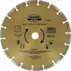 Gouden Benson diamantschijf 230 mm