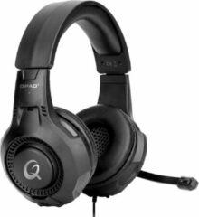 QPAD Gaming Headset Stereo QH-25 RGB 7.1 USB zwart