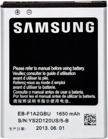 Afbeelding van EB-F1A2GBU Samsung Accu Li-Ion 1650 mAh Bulk - Samsung