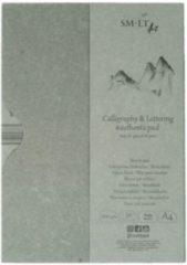 Witte SMLT Papiermap Kalligrafie A4 130gr 30 vel