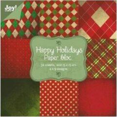 Joy! crafts - Noor! Design - Paperpack - Happy holidays 1 - 6011/0025