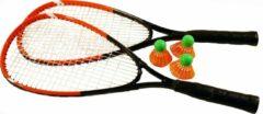 Oranje SportX Game On Sport Power Badmintonset