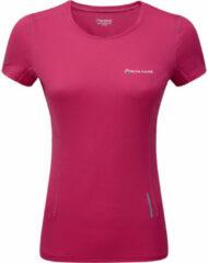 Roze Montane Women's Claw T-Shirt - Hardloopshirts (korte mouwen)
