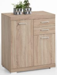FD Furniture Commode Bristol 2 XL van 90 cm hoog in eiken