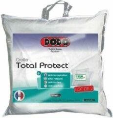 DODO Set van 2 Total Protect-kussens 65x65 cm wit