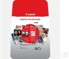 Canon Cartridge PG-560 / CL-561 Photo Value Pack Origineel Combipack Zwart, Cyaan, Magenta, Geel 3712C004 Cartridge multipack