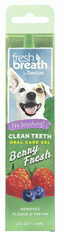 TropiClean - Fresh Breath Clean Teeth OralCareGel Berry - Dog - 59 ml