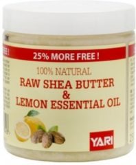 Yari 100% Pure Raw Shea Butter & Lemon Oil 250ml