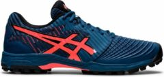 Asics Sportschoenen - Maat 42.5 - Mannen - donkerblauw/rood/oranje/zwart