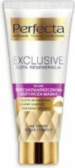 Perfecta Joanna's Choice Perfecta Exclusive Gold Regeneration Anti-rimpelmasker, 24k goud, zwarte kaviaar, sesamproteïne, 60ml