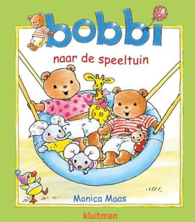 Afbeelding van Kluitman Kartonboek Bobbie naar de Speeltuin