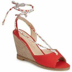 Rode Sandalen Petite Mendigote BLONDIE