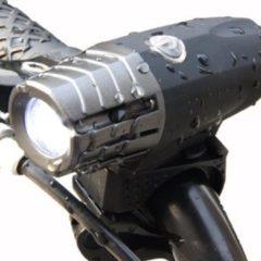 Zwarte ZAWAdeals - Cool-Zawadi Super fel herlaadbaar fietslicht USB - (Voor + Achterlicht) LED