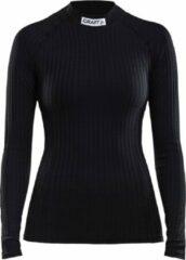 Craft Progress Baselayer Crewneck Longsleeve Sportshirt - Maat XL - Vrouwen - zwart
