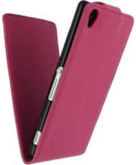 Roze Xccess Flip Case Sony Xperia Z3 Pink