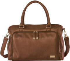 Isoki Zip Satchel Luiertas Redwood Chestnut