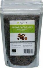 Puur en Fit Puur&Fit Cacao Nibs Rauw Biologisch - 250 gram