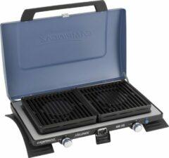 Blauwe Campingaz Xcelerate 400 SG Campingkooktoestel - 2-pits - 2x 2200 Watt