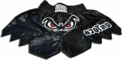 Zwarte XPRT Fight Gear XPRT No Fear kickbox broek XL