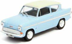 Ford Anglia MKI Lichtblauw / Wit 1:43 Cararama
