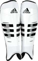 Witte Adidas Hockey Shinguard '14 - Scheenbeschermers - Wit