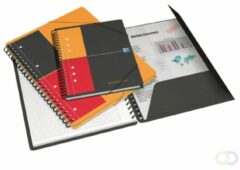 Oxford International A4+ Colleblok Kleurenassortiment Polypropylene kaft Gelinieerd 80 Vellen