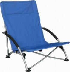 """Blauwe Capture Outdoor, """"Beach Fun"""" Strandstoel, opvouwbaar. Met 2 gepolsterde armleuningen. Geleverd met draagtas, …"""