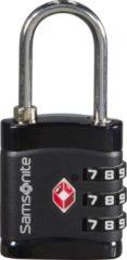 Zwarte Samsonite - Global Ta Combilock 3Dial Tsa Light Black
