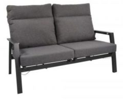 Antraciet-grijze Lesliliving Lesli Living Loungebank ohio