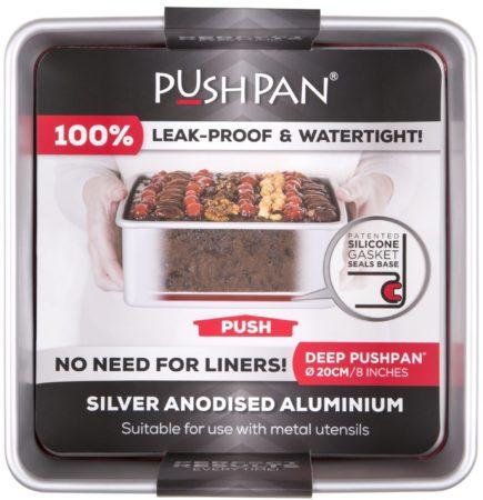 Afbeelding van Wham Cook Wham PushPan Springvorm - Aluminium - Vierkant - Diep 20 cm