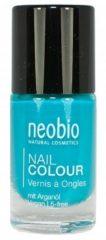 Neobio Nagellak 09 precious turquoise 8 Milliliter