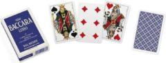 Dal Negro kaartspel Baccara Lusso 5,8 cm karton blauw/wit 54 stuks